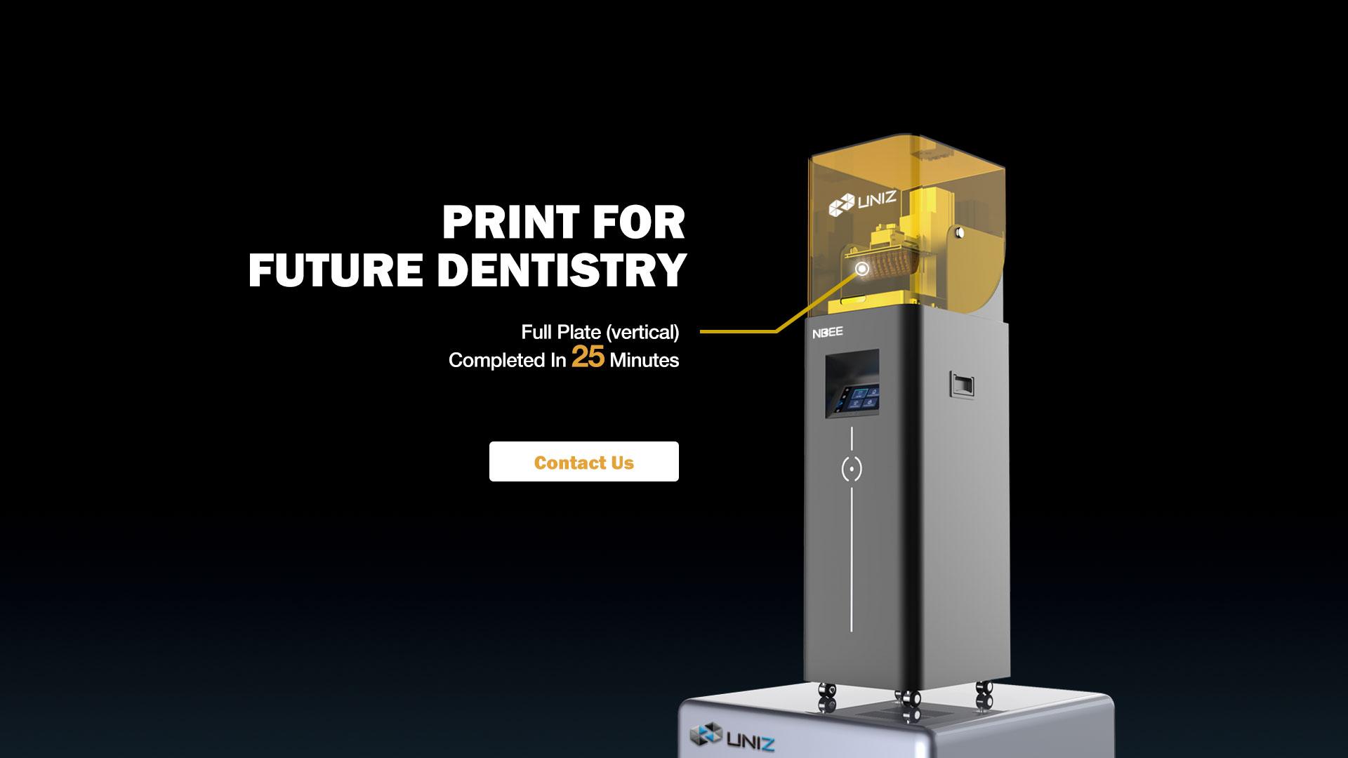 UNIZ NBEE DENTAL 3D Printer